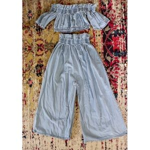 Other - Summer time ready Denim Set.